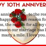 10 Years Anniversary Message For Husband Facebook