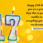 17th Birthday Quotes