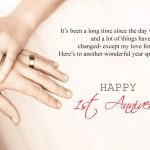 1st Love Anniversary Wishes Pinterest