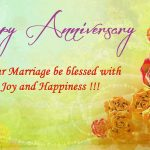 1st Marriage Anniversary Message Facebook