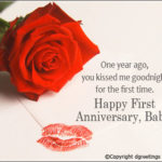 1st Marriage Anniversary Quotes For Wife