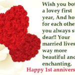 1st Wedding Anniversary Message For Husband Tumblr