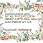 20th Wedding Anniversary Message Facebook
