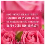 25th Anniversary Wishes For Friends Facebook