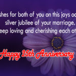 25th Wedding Anniversary Wishes For Friends Twitter