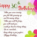 30th Birthday Messages Twitter