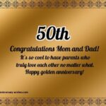 50th Wedding Anniversary Greetings Twitter