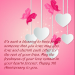 5th Marriage Anniversary Quotes Facebook