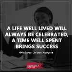 A Life Well Lived Quotes Twitter