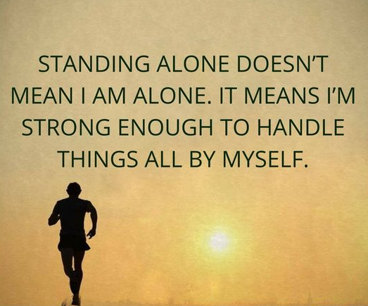 Alone And Successful Quotes Facebook