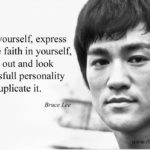 Always Be Yourself Bruce Lee Facebook
