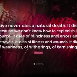 Anais Nin Quotes Love Never Dies Pinterest