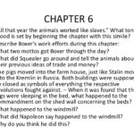 Animal Farm Chapter 6 Quotes