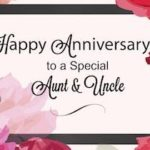 Anniversary Wishes For Uncle And Aunty Tumblr