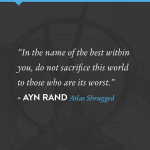 Ayn Rand Philosophy Quotes Twitter