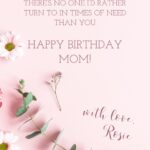 Bday Message For Mother