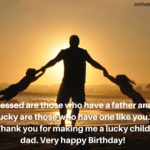 Bday Wishes For Dad