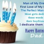 Bday Wishes For Dad Pinterest