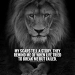 Being A Lion Quotes