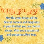 Best New Year Wishes In English Pinterest