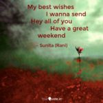 Best Wishes For Weekend Twitter