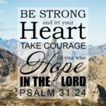 Bible Verses For Strength And Courage In Difficult Times Twitter