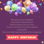 Birthday Blessings For Daughter Pinterest