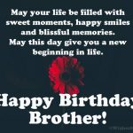 Birthday Message For Big Brother