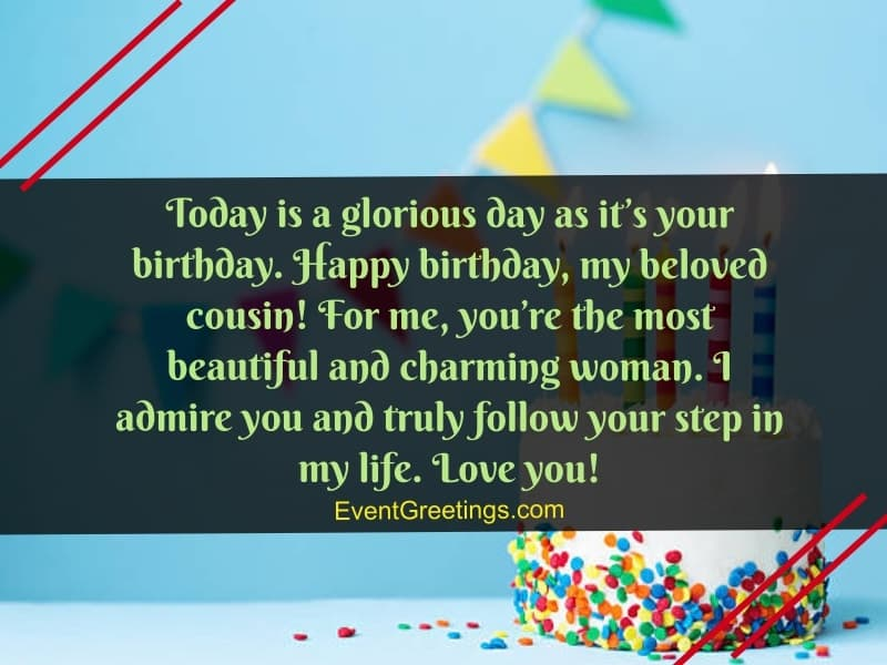 Birthday Message For Cousin Twitter