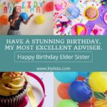 Birthday Message For Elder Sister Pinterest