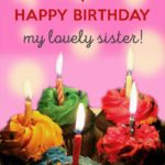 Birthday Message For Younger Sister Pinterest