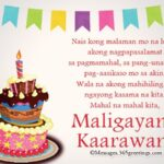 Birthday Message Tagalog Tumblr