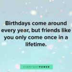 Birthday Quotes For Friend Facebook