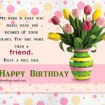Birthday Wish For Best Friend Forever Facebook