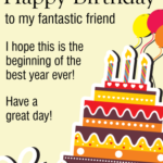 Birthday Wishes For Friend On Twitter