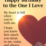 Birthday Wishes For Loved Ones Pinterest
