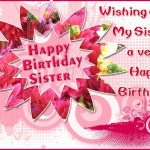 Birthday Wishes For Sister Quotes Facebook