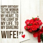 Birthday Wishes Messages For Wife Pinterest