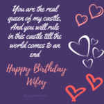 Birthday Wishes Messages For Wife Twitter