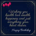 Birthday Wishes Quotes Facebook