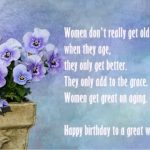 Birthday Wishes To A Strong Woman
