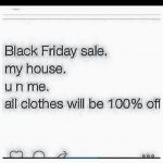 Black Friday Humor Quote Tumblr