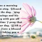Blessing Good Morning Wishes Facebook