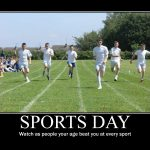 Caption For Sports Day