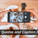 Caption With Food Pinterest