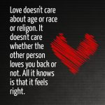 Care Love Quote For Her With Image