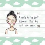 Cartoon Girl With Quotes Twitter