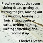 Charles Dickens Quotes About Writing