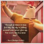 Chicken Little Today Is A New Day Facebook