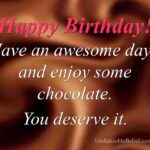 Chocolate Birthday Quotes Pinterest